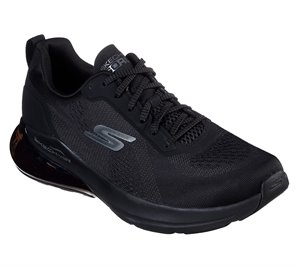 Black Skechers Skechers GOrun Air - Jetstream