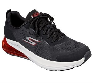 Red Black Skechers Skechers GOrun Air - Jetstream