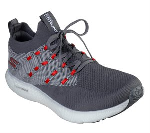 Red Gray Skechers Skechers GOrun 7