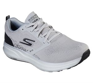 Black Gray Skechers Skechers GOrun Ride 8 Hyper