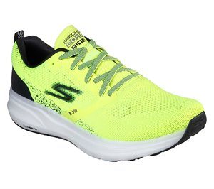 Black Yellow Skechers Skechers GOrun Ride 8 Hyper