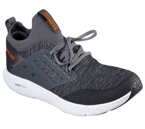 Orange Gray Skechers Skechers GOrun Horizon - Link