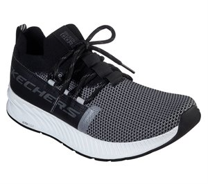 Gray Black Skechers Skechers GOrun Balance - Anchor