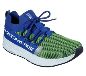 Green Blue Skechers Skechers GOrun Balance - Anchor