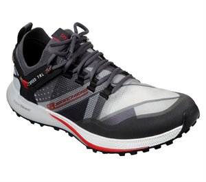 Red Gray Skechers Skechers GOrun Speed TRL Hyper