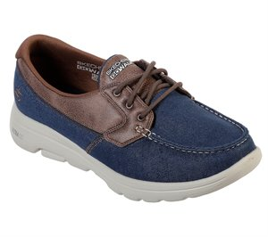 Brown Navy  Skechers Skechers GOwalk 5 - Captivated