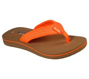 Orange Skechers BOBS Sunset - Neon Summer