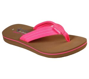 Pink Skechers BOBS Sunset - Neon Summer - FINAL SALE