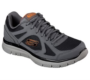 Black Gray Skechers Flex Advantage - Zizzo