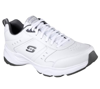 Gray White Skechers Haniger