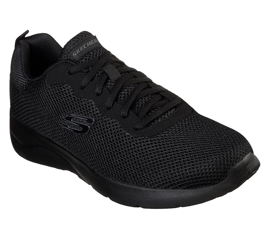 Skechers Dynamight 2.0 Rayhill in Black Skechers Mens on