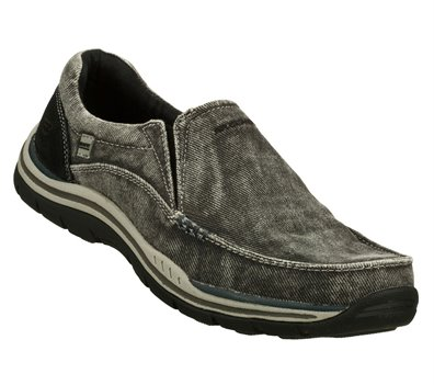 4176803ca7f7a Skechers Relaxed Fit: Expected - Avillo in Black - Skechers Mens ...