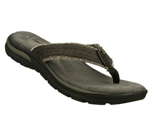 Black Skechers Relaxed Fit: Supreme - Bosnia - FINAL SALE
