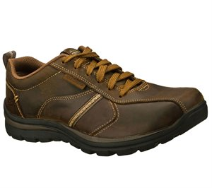Brown Skechers Relaxed Fit: Superior - Levoy