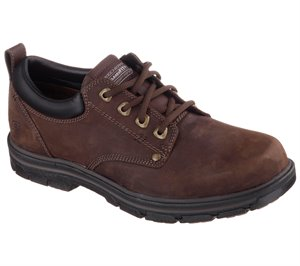 Brown Skechers Relaxed Fit: Segment - Rilar