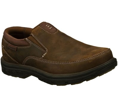 1d71ece7 Skechers Relaxed Fit: Segment - The Search in Brown - Skechers Mens ...