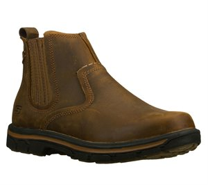 Brown Skechers Relaxed Fit: Segment - Dorton