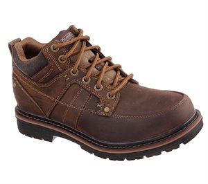 Brown Skechers Relaxed Fit: Marcelo - Topel