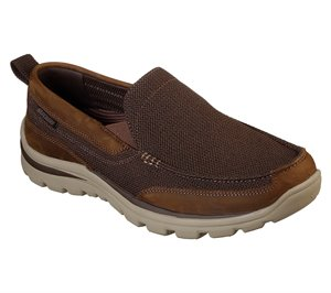 Brown Skechers Relaxed Fit: Superior - Milford
