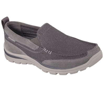 Gray Skechers Relaxed Fit: Superior - Milford