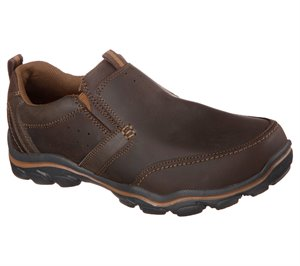 Brown Skechers Relaxed Fit: Montz - Devent