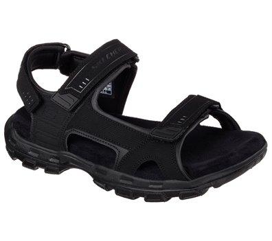 Black Skechers Relaxed Fit: Gander - Louden