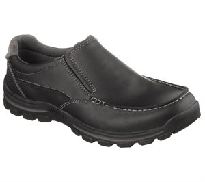 Black Skechers Relaxed Fit: Braver - Rayland
