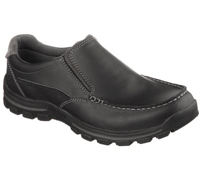 Black Skechers Relaxed Fit: Braver - Rayland - FINAL SALE
