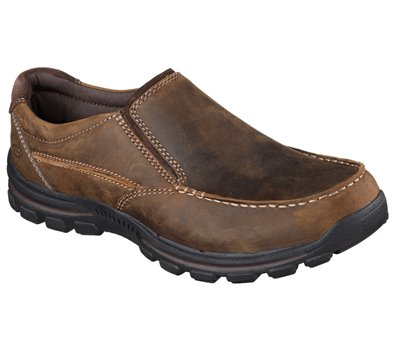 Brown Skechers Relaxed Fit: Braver - Rayland