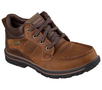 Brown Skechers Relaxed Fit: Segment - Melego