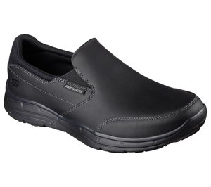 Black Skechers Relaxed Fit: Glides - Calculous
