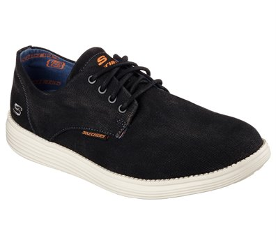 Aparte Suyo matar  Skechers Relaxed Fit: Status - Borges in Black - Skechers Mens Casual on  Shoeline.com