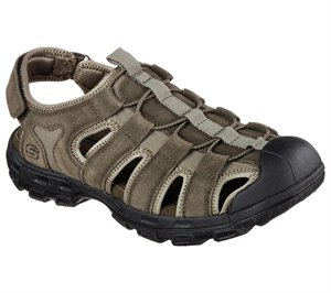 Olive Skechers Relaxed Fit: Gander - Selmo - FINAL SALE