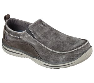 Gray Skechers Relaxed Fit: Elected - Drigo