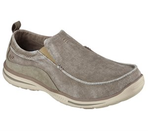 Dark Natural Skechers Relaxed Fit: Elected - Drigo