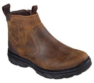 Brown Skechers Relaxed Fit: Resment - Korver - FINAL SALE