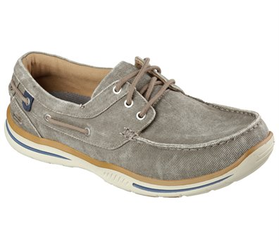 Brown Skechers Relaxed Fit: Elected - Horizon