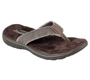 Brown Skechers Relaxed Fit: Evented - Arven