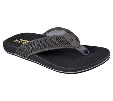 Gray Skechers Relaxed Fit: Pelem - Emiro
