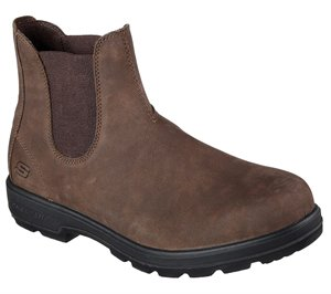 Brown Skechers Relaxed Fit: Molton - Gaveno