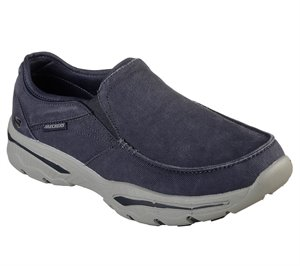 NAVY Skechers Relaxed Fit: Creston - Moseco - FINAL SALE