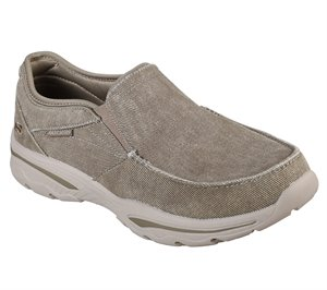 Natural Skechers Relaxed Fit: Creston - Moseco - FINAL SALE
