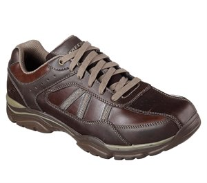 Brown Skechers Relaxed Fit: Rovato - Texon