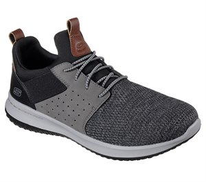Gray Black Skechers Delson - Camben