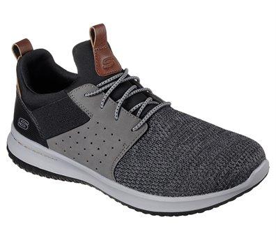 Gray Black Skechers Delson - Camben
