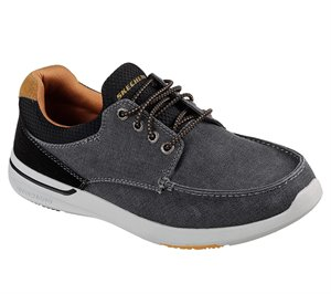 Black Skechers Relaxed Fit: Elent - Mosen