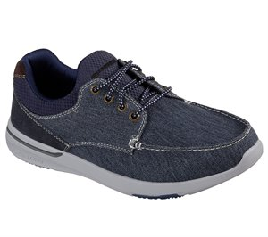 Navy Skechers Relaxed Fit: Elent - Mosen
