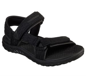 Black Skechers Relaxed Fit: Reggae - Tulo