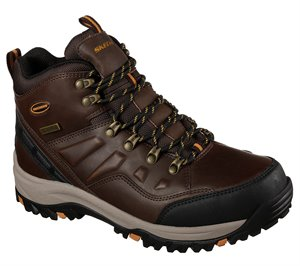 Brown Skechers Relaxed Fit: Relment - Traven