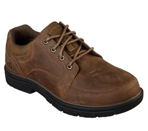 Brown Skechers Relaxed Fit: Segment - Wolden